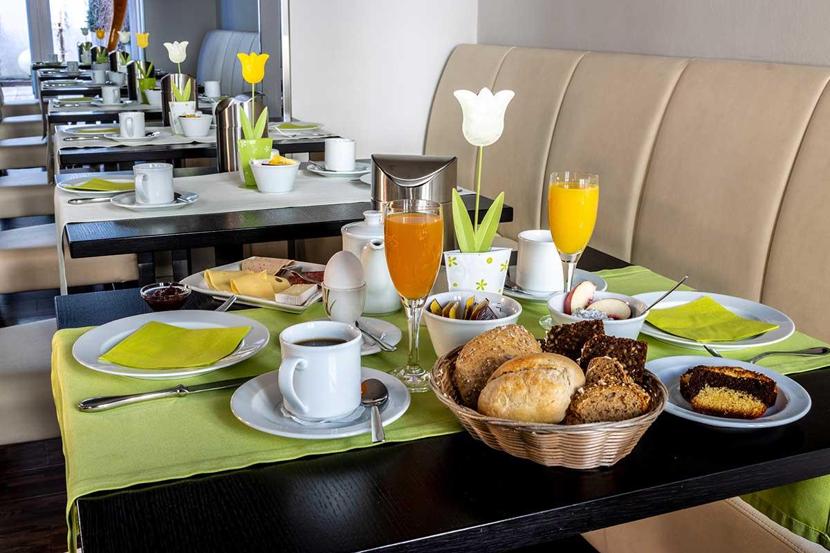 Frühstück im Art Hotel Lauterbach Kaiserslautern - immer ein Genuss